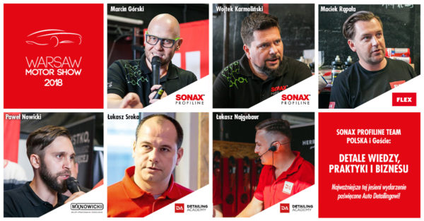 Warszawa: SONAX Profiline Team Polska i GOŚCIE - Detale wiedzy, praktyki i biznesu