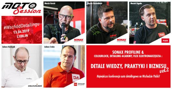 Lublin: SONAX Profiline Team Polska i GOŚCIE - Detale wiedzy, praktyki i biznesu vol.2